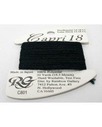 Capri 18 - Black