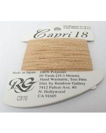 Capri 18 - Indian Tan
