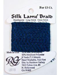 Silk Lame Braid 13 Bl Spphr