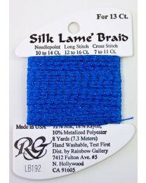 Silk Lame Braid 13 Bluebird
