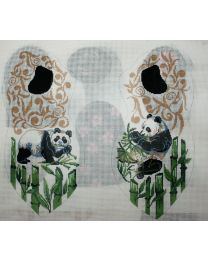3 D Bear Panda Bear Theme, 13m, 10 x 14