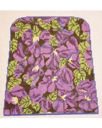 3 piece violets n blk pouch prs