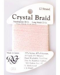 Crystal Braid Pink Pearl
