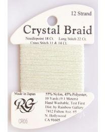 Crystal Braid Pale Mt Grn Prl