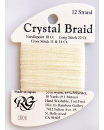 Crystal Braid Lemon Pearl