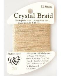 Crystal Braid Vatican Gold Pear
