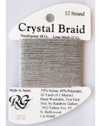 Crystal Braid Smke Gray Pearl