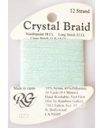 Crystal Braid Aqua Pearl