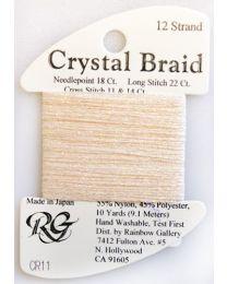 Crystal Braid Peach Pearl