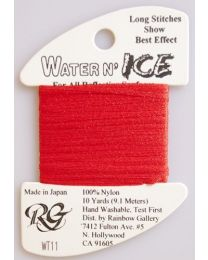 Water n Ice Pale Christmas Red