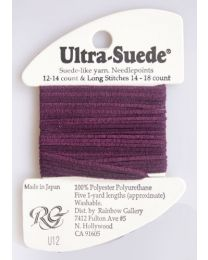 Ultra Suede Deep Orchid