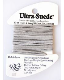 Ultra Suede Pale Gray