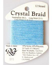 Crystal Braid Blue Pearl