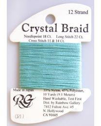 Crystal Braid Tiffany Blue