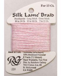 Silk Lame Braid 13 Baby Pink