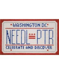 Washington DC Mini Lic Plate