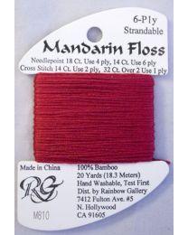 Mandarin Floss Cranberry