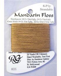 Mandarin Floss Dark Camel