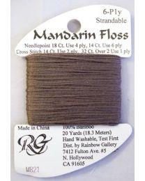 Mandarin Floss Dark Beige