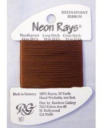 Neon Rays - Brown
