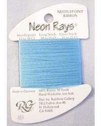 Neon Rays - Aqua