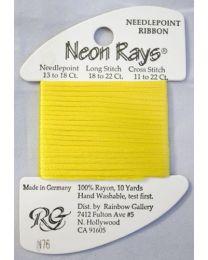 Neon Rays - Bright Yellow