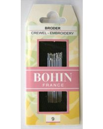 Bohin Crewel Needles Size 9
