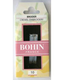 Bohin Crewel Needles Size 10