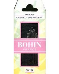 Bohin Crewel Needles Size 5/10