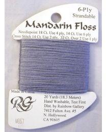 Mandarin Floss Confederate Gray
