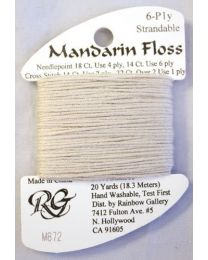 Mandarin Floss Dark Ecru