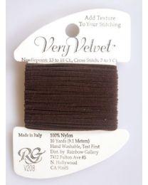 Very Velvet - Dark Brown