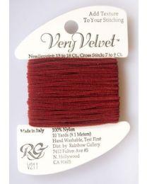 Very Velvet - Brick Red