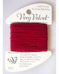 Very Velvet - Cherry Red