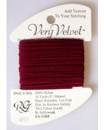 Very Velvet - Burgundy