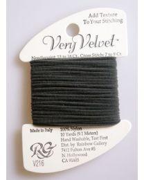 Very Velvet - Dark Gray