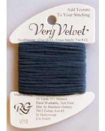 Very Velvet - Antique Blue