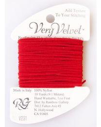 Very Velvet - Christmas Red