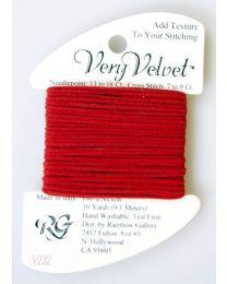 Very Velvet - Brite Red