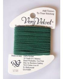 Very Velvet - Dark Sea Green