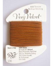 Very Velvet - Dark Golden Brown