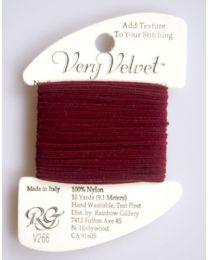 Very Velvet - Dark Red