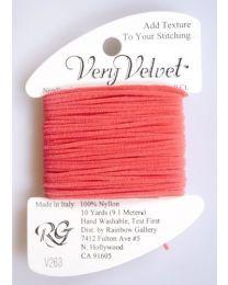 Very Velvet - Coral