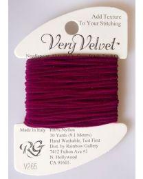 Very Velvet - Dark Raspberry
