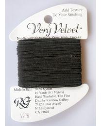 Very Velvet - Charcoal