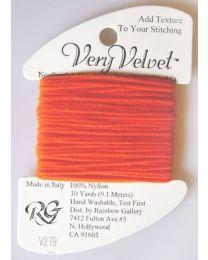 Very Velvet - Brite Orange