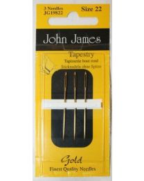 Gold Tapestry Needles 22