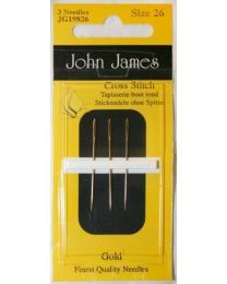 Gold Tapestry Needles 26