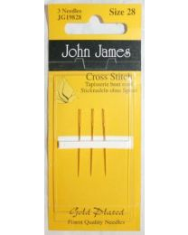 Gold Tapestry Needles 28