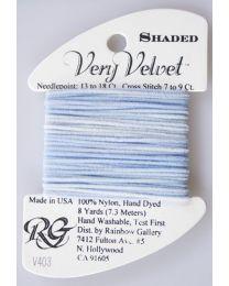 Very Velvet Shaded - Blue Blush